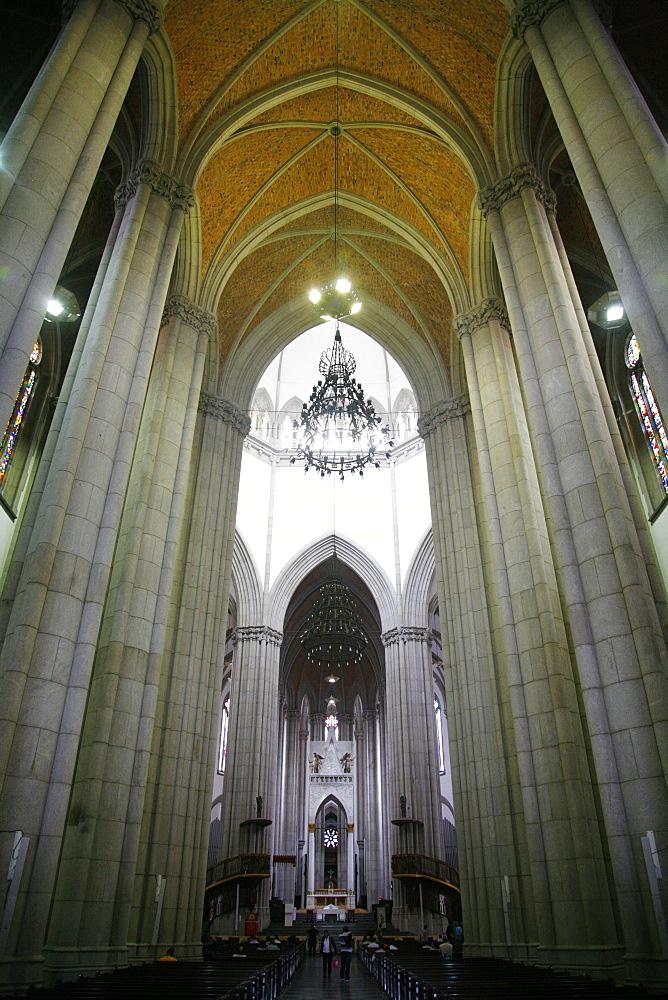 Catedral da Se, Sao Paulo, Brazil, South America