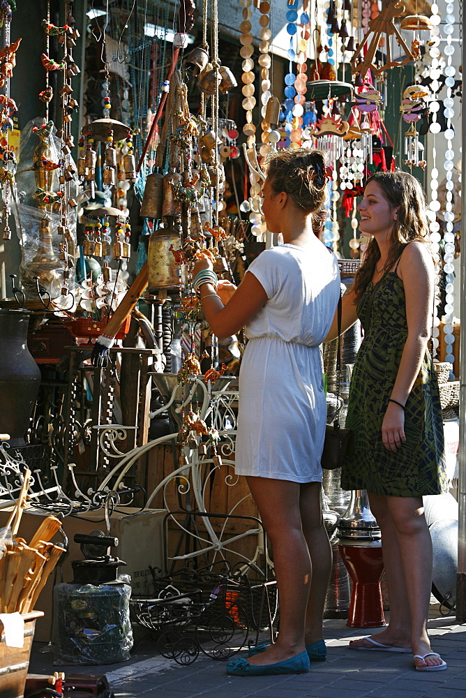 The flea market in Jaffa, Tel Aviv, Israel, Middle East