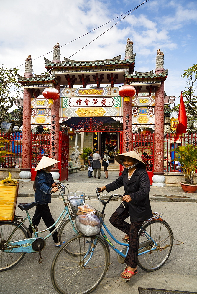 Cantonese Assembly Hall (Quang Trieu), Hoi An, UNESCO World Heritage Site, Vietnam, Indochina, Southeast Asia, Asia