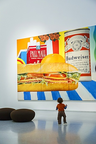 Still Life No. 33 by Tom Wesselmann, Israel Museum, Jerualem, Israel, Middle East