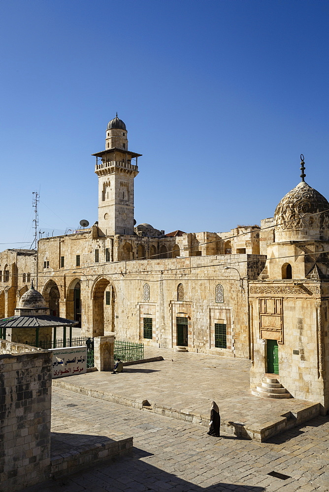 Temple Mount, UNESCO World Heritage Site, Jerusalem, Israel, Middle East