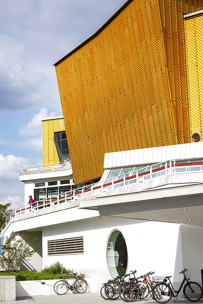 Berliner Philharmonie (Berlin Philharmonic), Concert Hall, Berlin, Germany, Europe