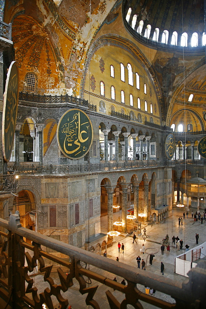 The Haghia Sophia, UNESCO World Heritage Site, Istanbul, Turkey, Europe - 749-791