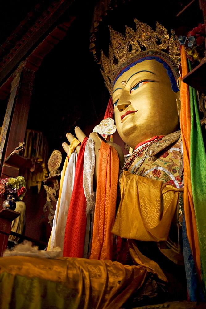 Meru Nyingba monastery, Bharkor, Lhasa, Tibet, China, Asia