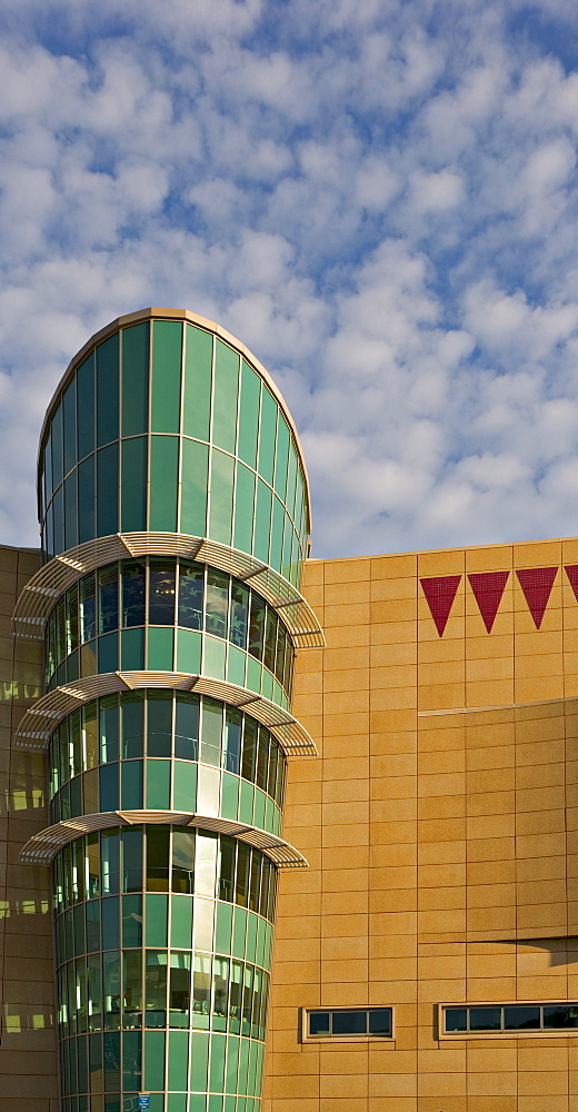 The Museum of New Zealand, Te Papa, on the sea front at Wellington, North Island, New Zealand, Pacific