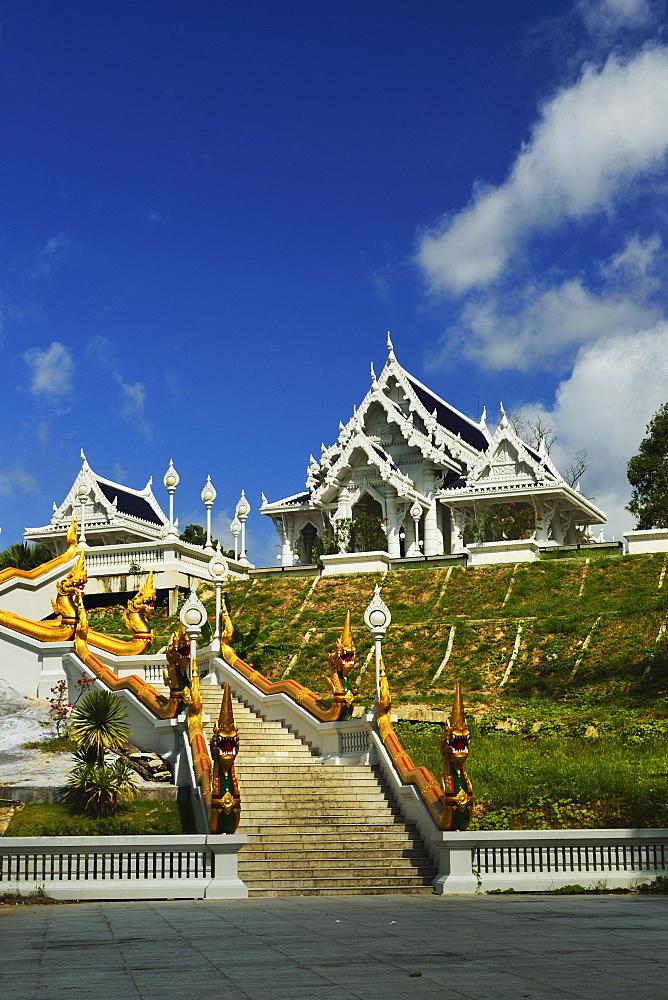 Kaewkorawaram temple in Krabi Town, Krabi Province, Thailand, Southeast Asia, Asia