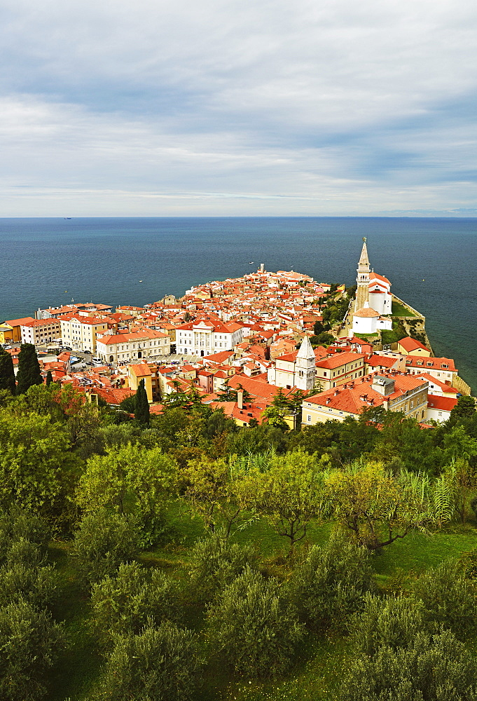Piran, Gulf of Piran, Adriatic Sea, Slovenia, Europe