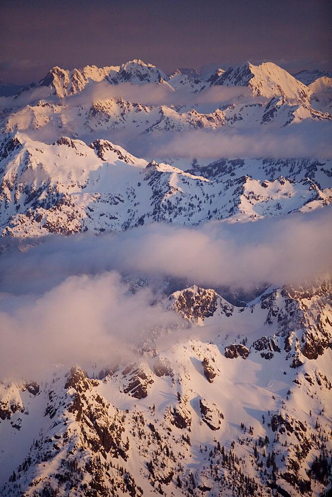 Olympic mountain range, Olympic National Park, UNESCO World Heritage Site, Washington State, United States of America, North America - 757-200