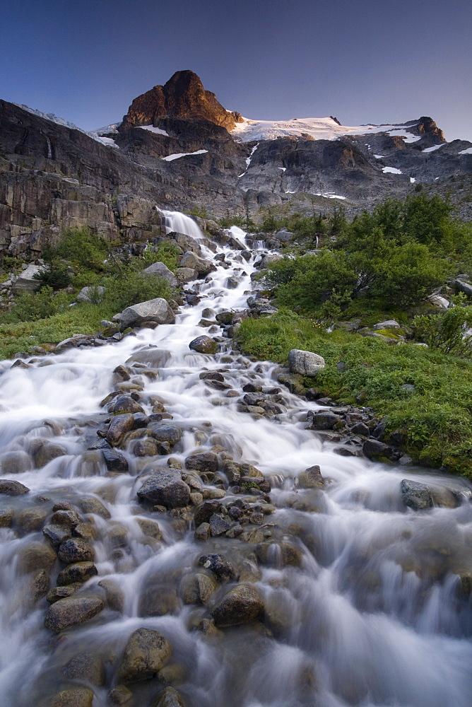 Landscape, Slalok Mountain, Joffre Lakes Provincial Park, British Columbia, Canada, North America - 757-223