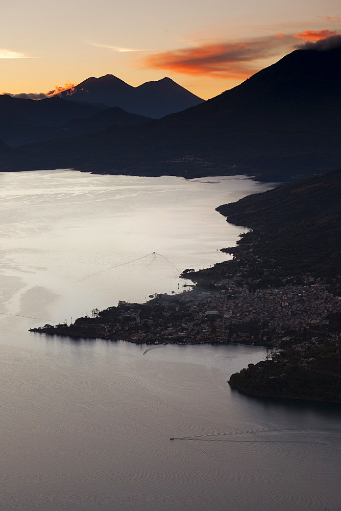 Landscape, San Pedro, Lago Atitlan, Guatemala, Central America