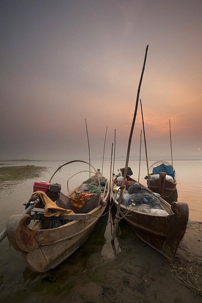 River life, Irrawaddy River, Manadalay, Myanmar (Burma), Asia