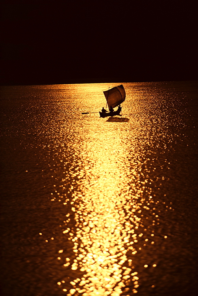 River boat, Irrawaddy (Ayeyarwady) River, Myanmar (Burma), Asia - 757-68