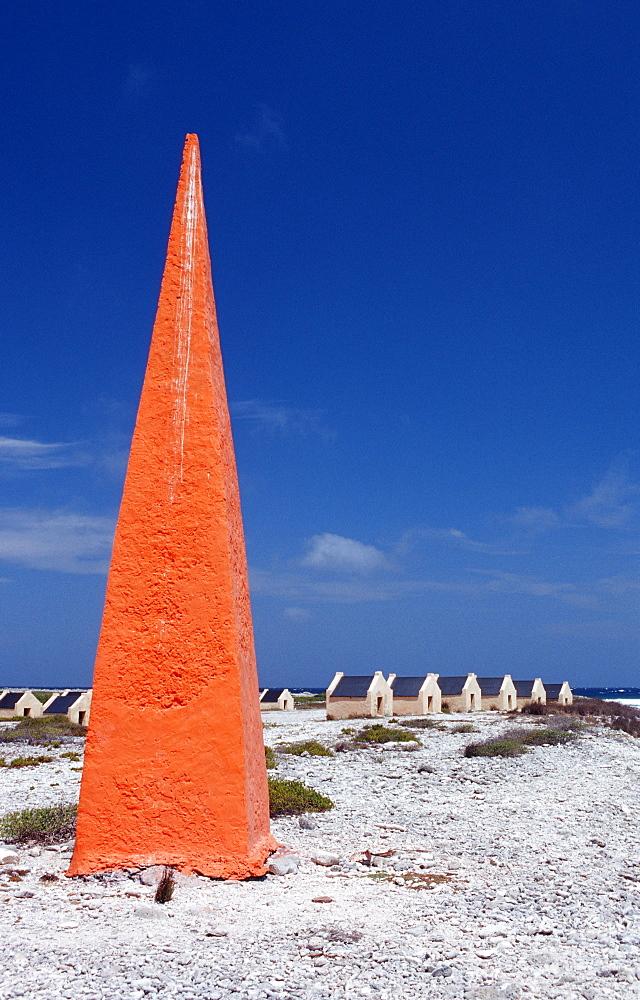 Slave huts Red Slave, Netherlands Antilles, Bonaire, Bonaire