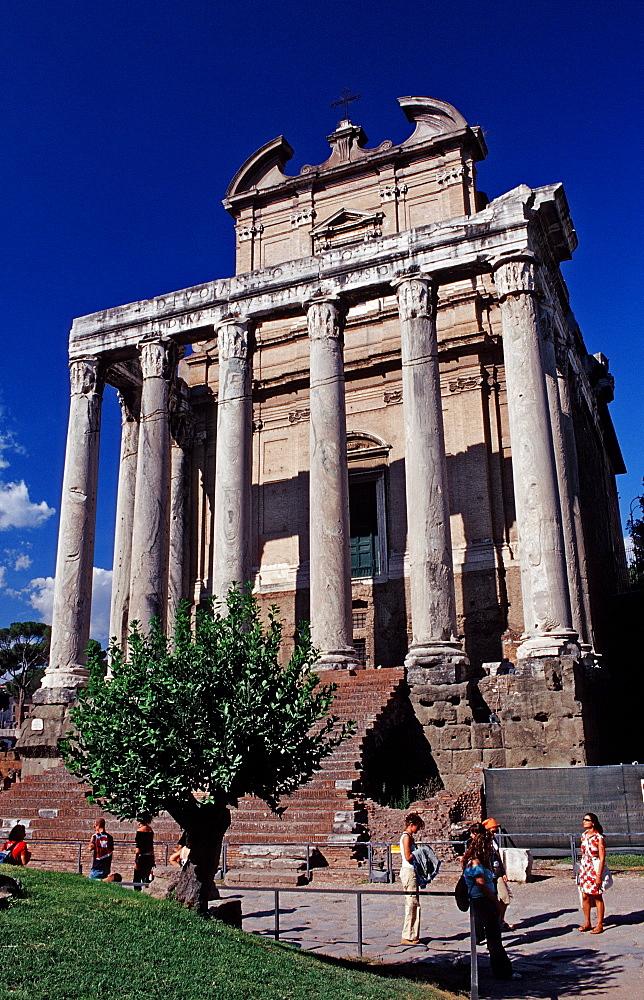 Forum Romanum, Italy, Rome