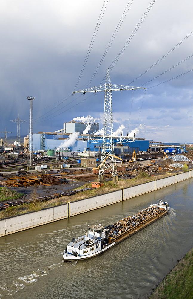 Steelworks at Voelklingen, Germany, Voelklingen, Saarland