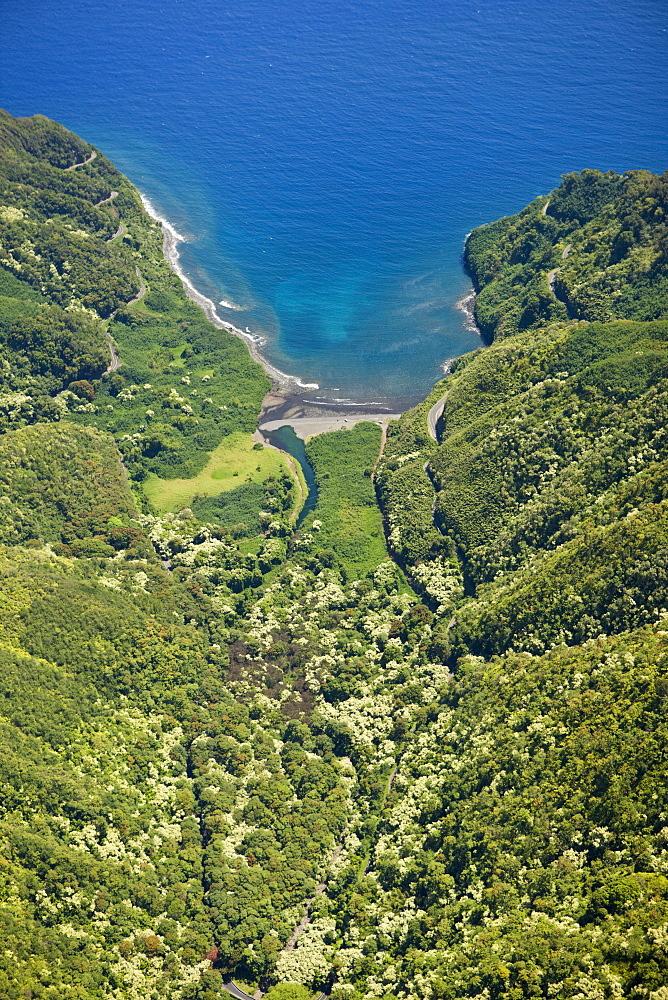 Road to Hana at Northcoast of Maui, Maui, Hawaii, USA