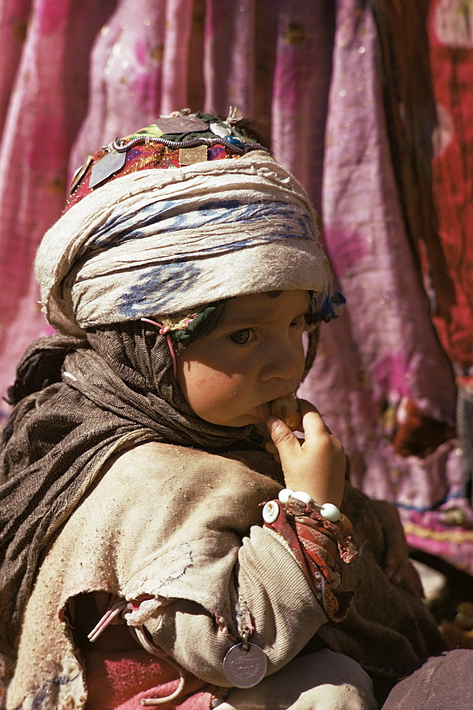 Qashqai child, Iran, Middle East - 76-2293