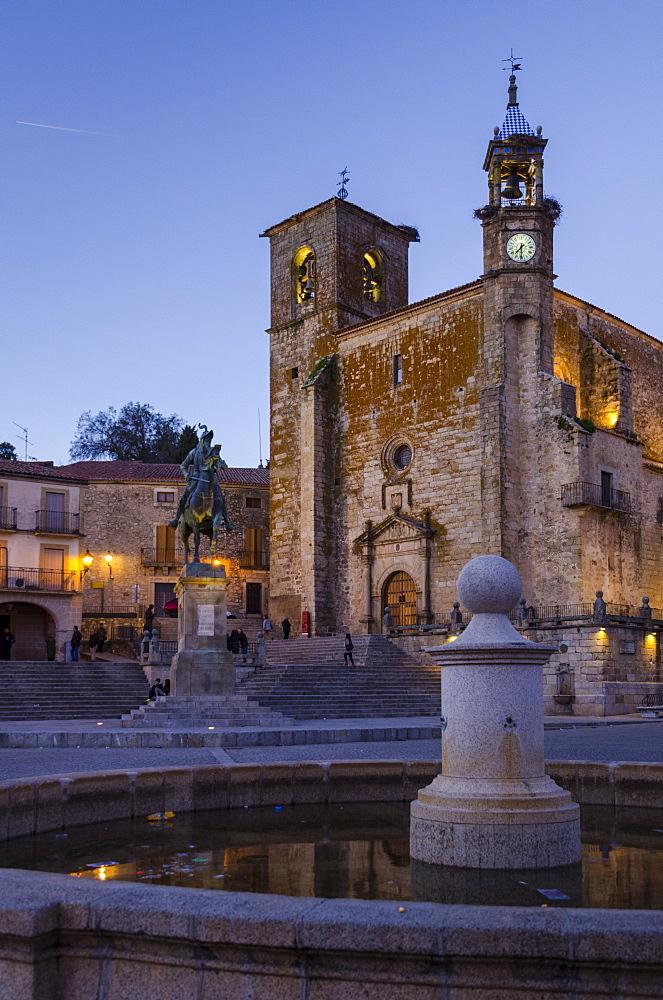 Church of San Martín in Trujillo, Caceres, Extremadura, Spain, Europe