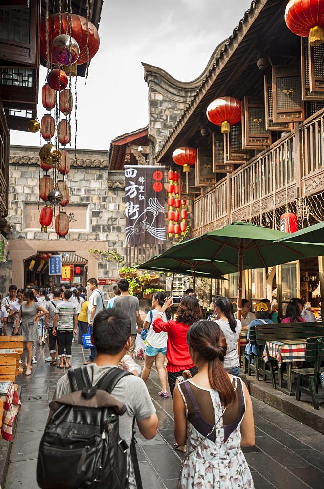 Jinli Ancient Street, Chengdu, Sichuan Province, China, Asia
