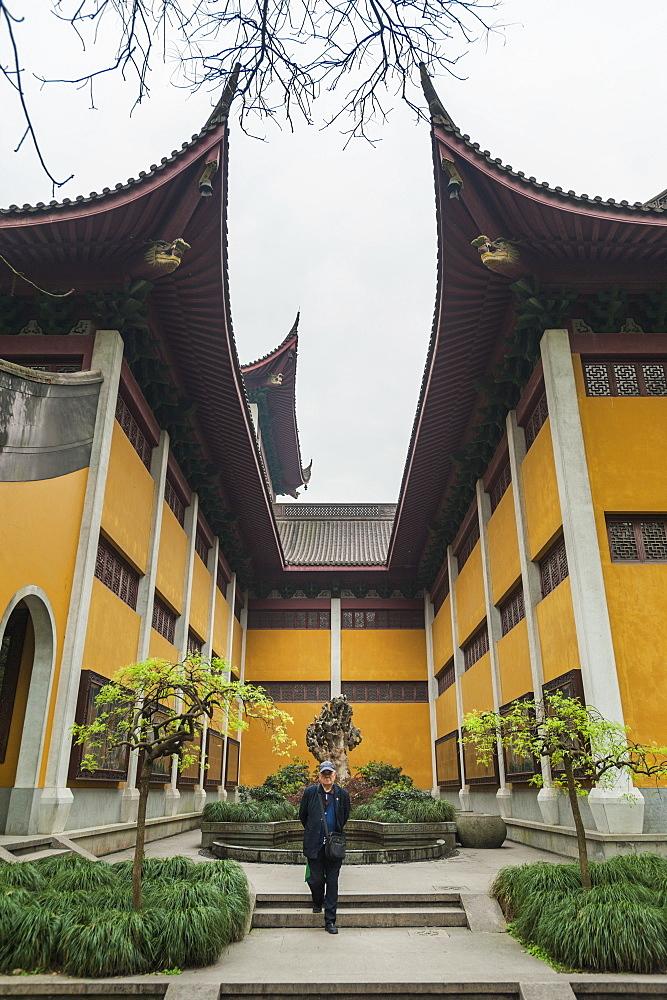 Lingyin Temple, Hangzhou, Zhejiang province, China, Asia - 767-1235