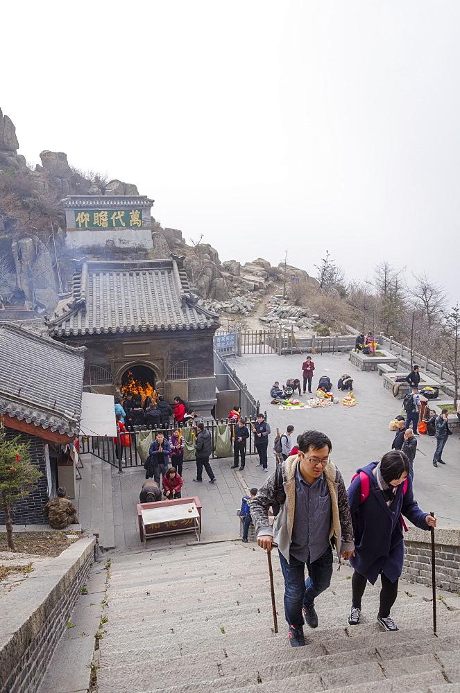 Mt. Taishan, Taian, Shandong province, China, Asia