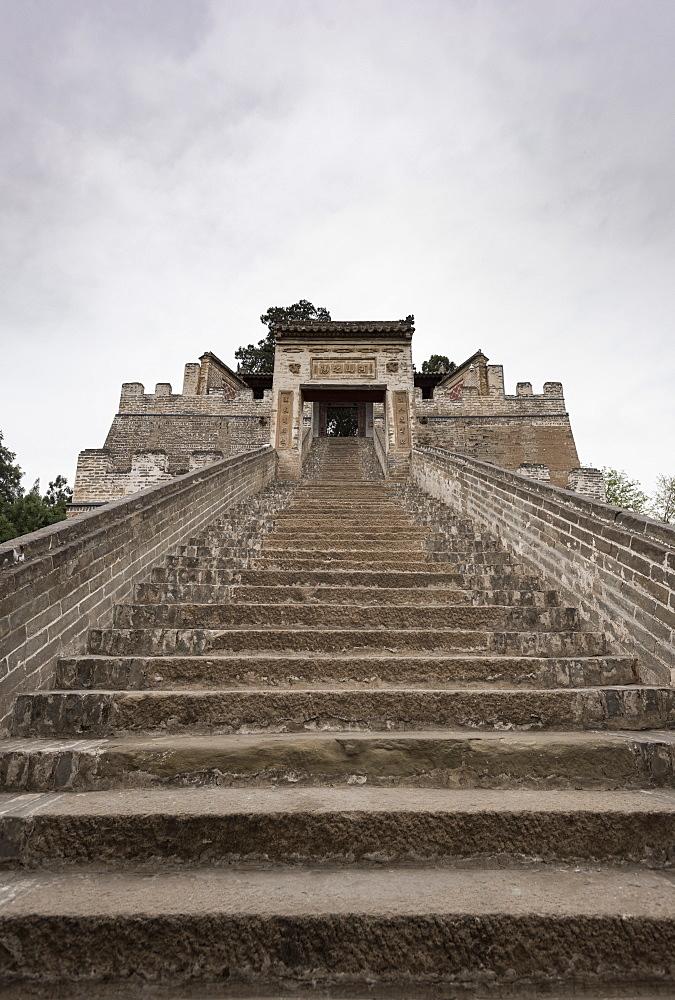 Sima Qian Temple, Hancheng, Shaanxi Province, China, Asia - 767-1336