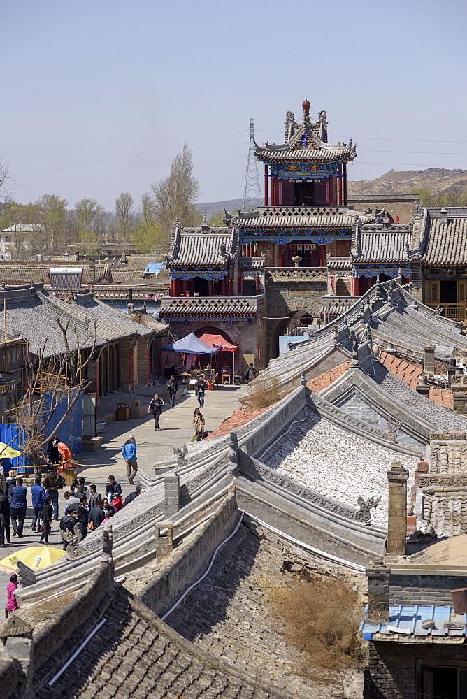Gaojiabu Ancient Town in Shenmu County, Shaanxi Province, China, Asia - 767-1342