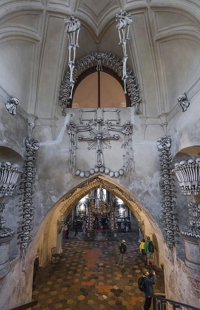 Sedlec Ossuary, Kutna Hora, Czech Republic, Europe - 767-1362