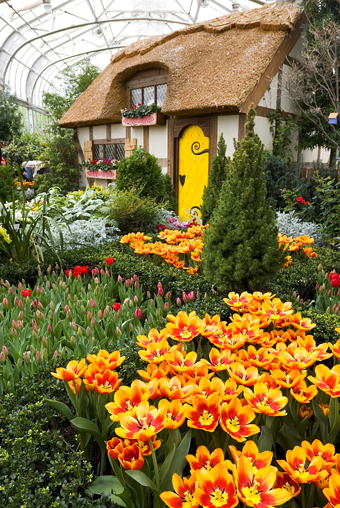 Lewis Ginter Botanical Garden, Richmond, Virginia, United States of America, North America