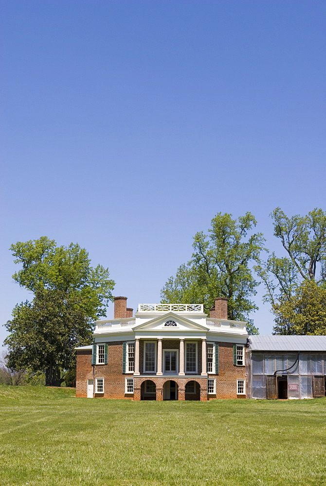 Thomas Jefferson's Poplar Forest, Virginia, United States of America, North America