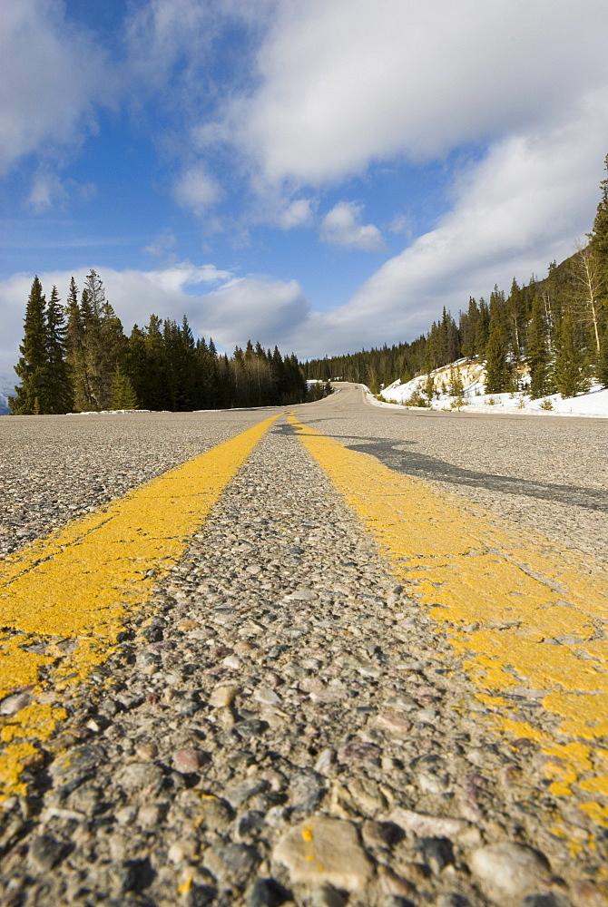 Icefields Parkway, Jasper National Park, UNESCO World Heritage Site, Alberta, Canada, North America