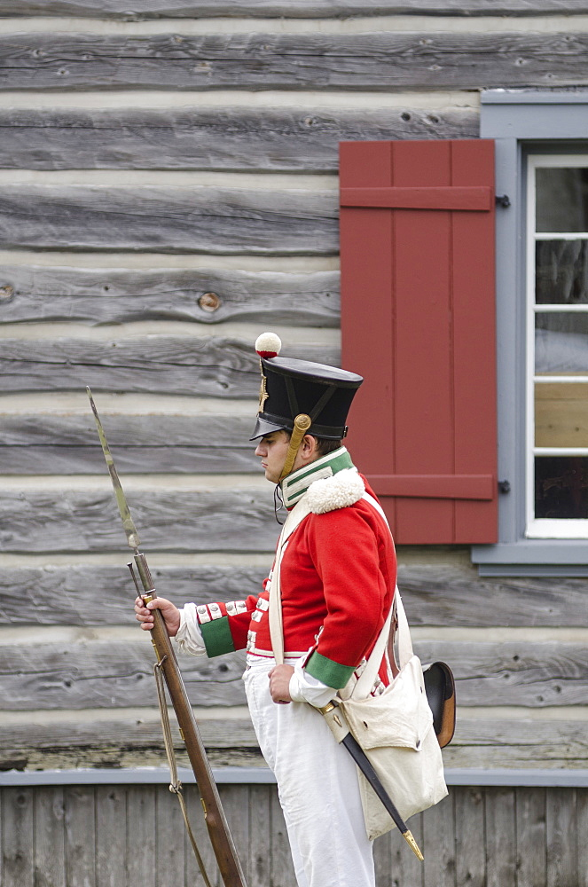 Fort Ingall, Temiscouata sur le Lac, Quebec Province, Canada, North America