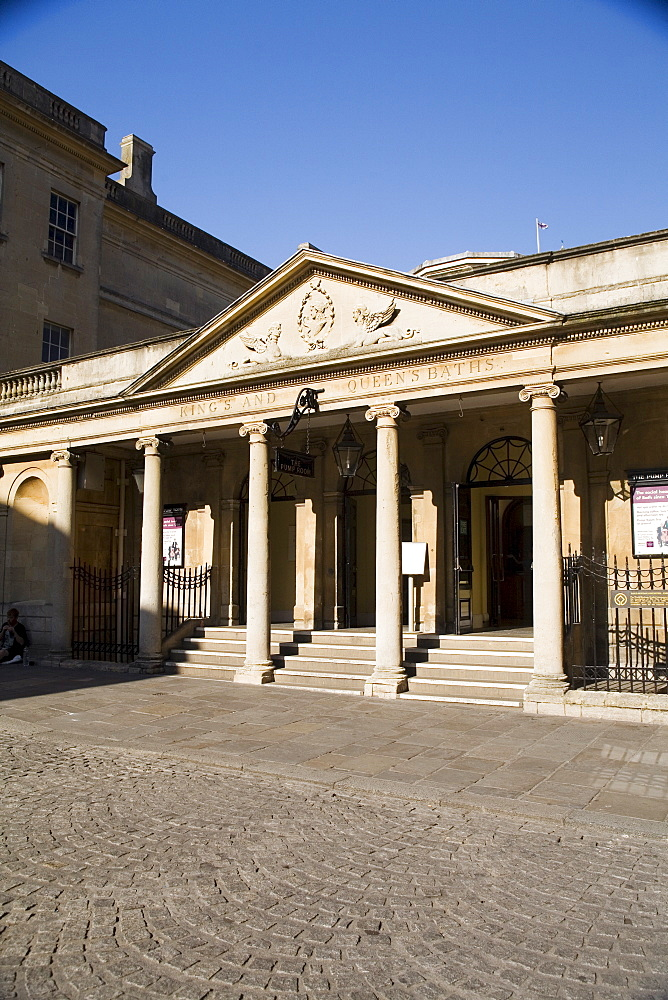 King's and Queen's Baths, Bath, Avon, England, United Kingdom, Europe - 769-9