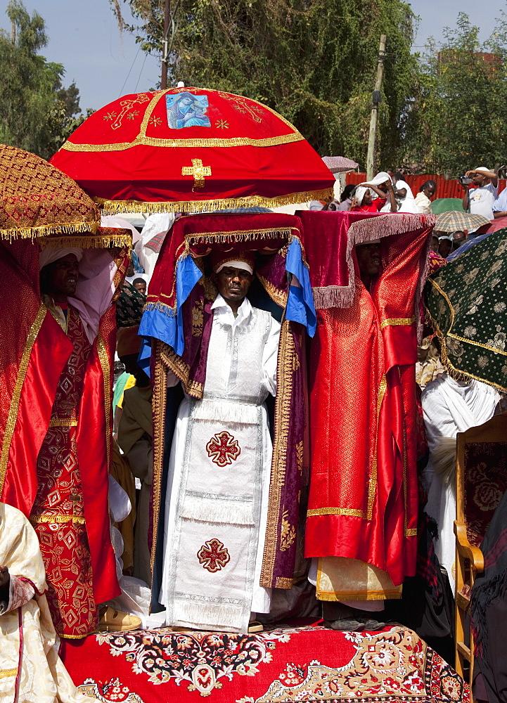 Timkat festival, Gondar, Ethiopia, Africa - 772-2760