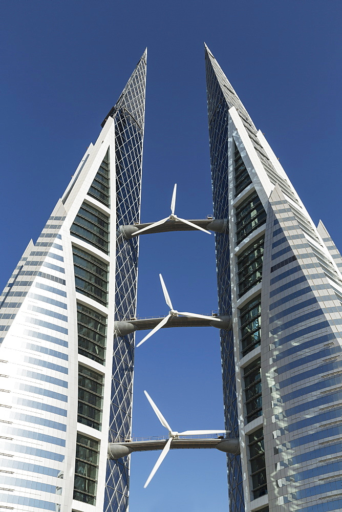 Bahrain World Trade Center, Manama, Bahrain, Middle East