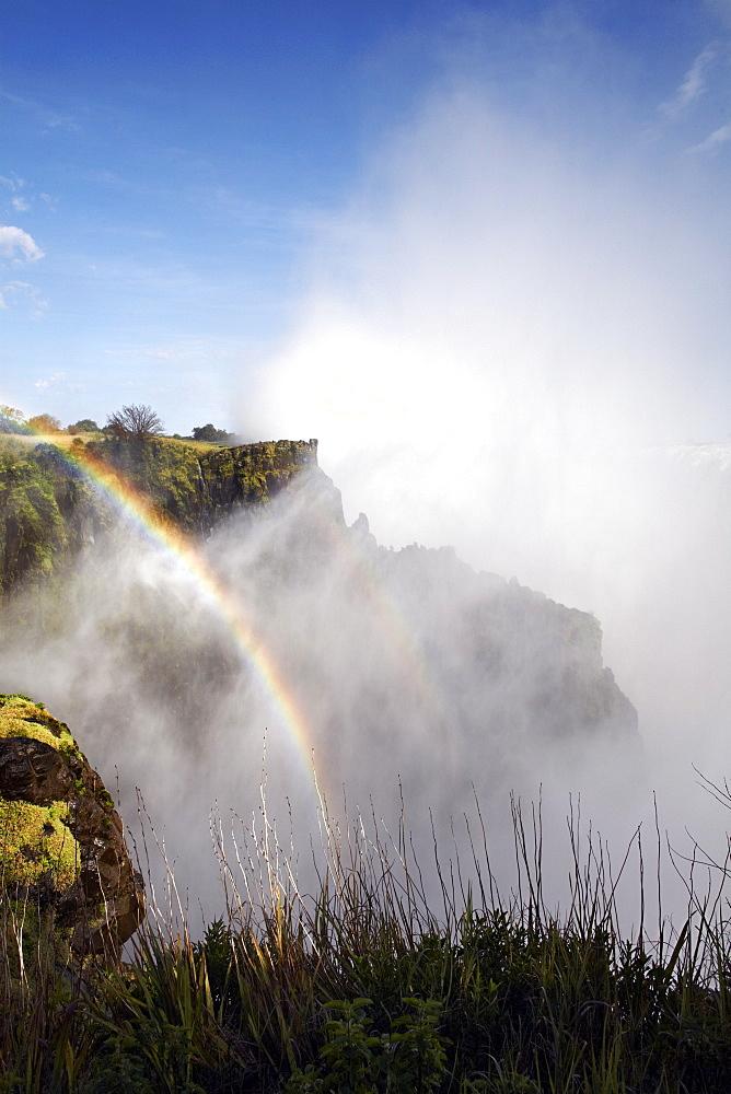 Victoria Falls, UNESCO World Heritage Site, Zambia, Africa - 774-763