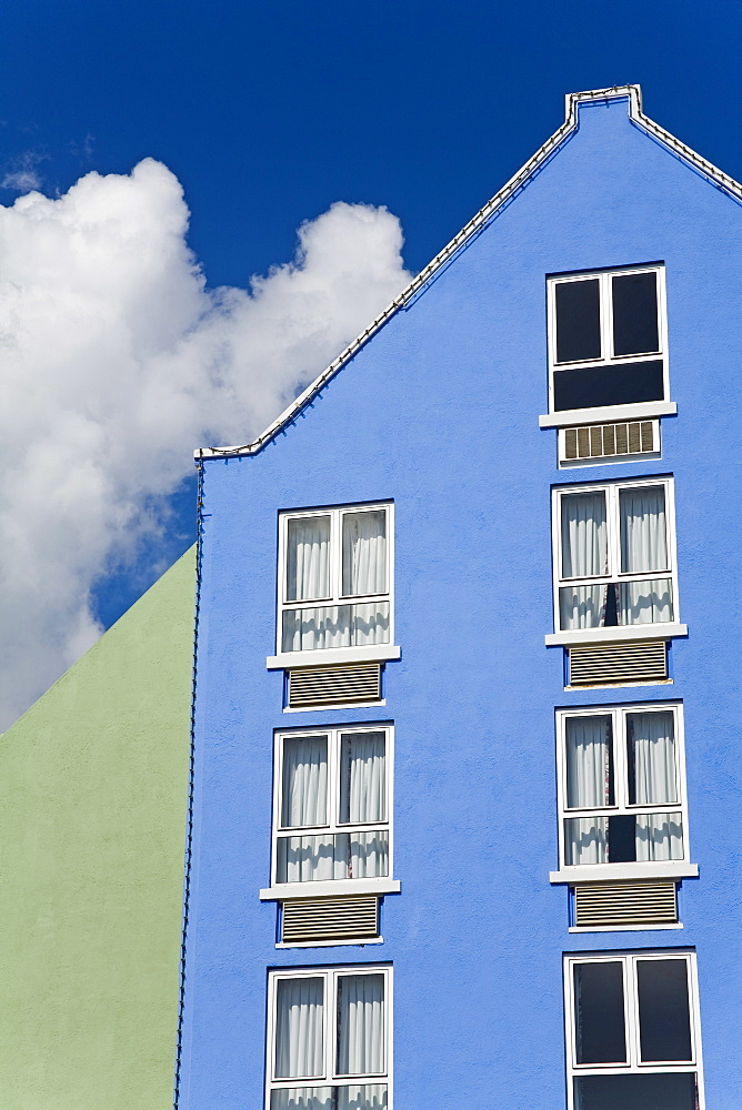 Hotel in Otrobanda District, Willemstad, Curacao, Netherlands Antilles, West Indies, Caribbean, Central America - 776-116