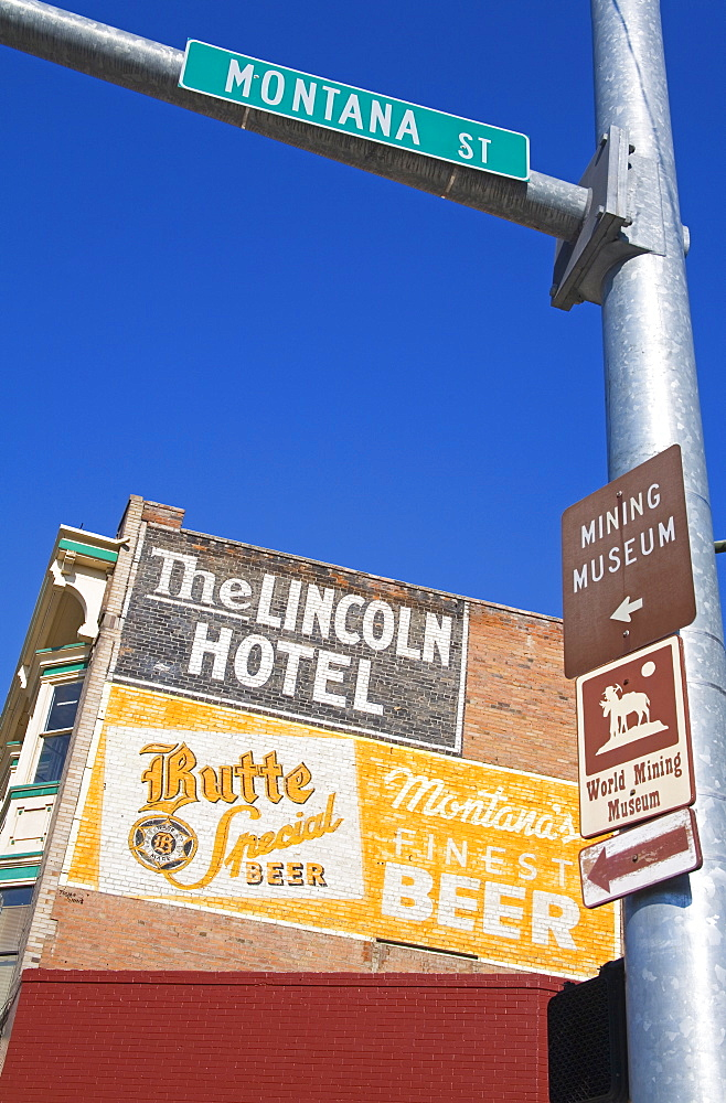 The Lincoln Hotel, National Historic District, Butte, Montana, United States of America, North America