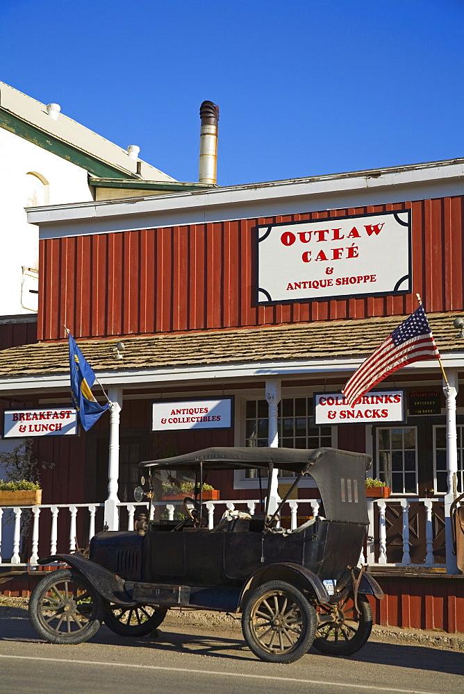Outlaw Cafe, Historic Virginia City, Bozeman Region, Montana, United States of America, North America