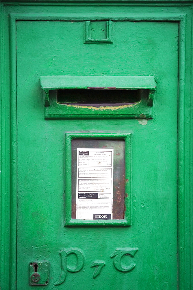 Post Box in Tipperary Town, County Tipperary, Munster, Republic of Ireland, Europe - 776-1303