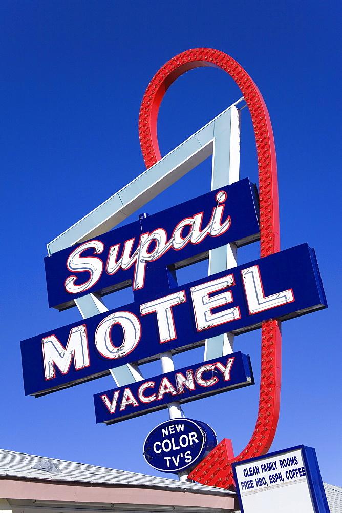 Supai Motel, Seligman, Arizona, United States of America, North America
