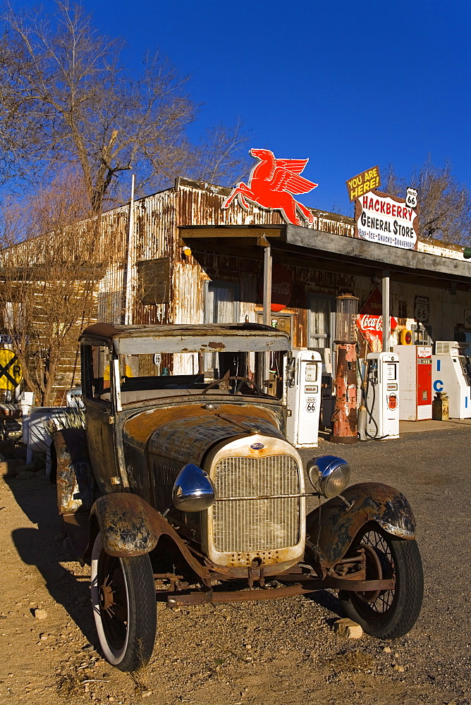 General Store and Route 66 Museum, Hackberry, Arizona, United States of America, North America
