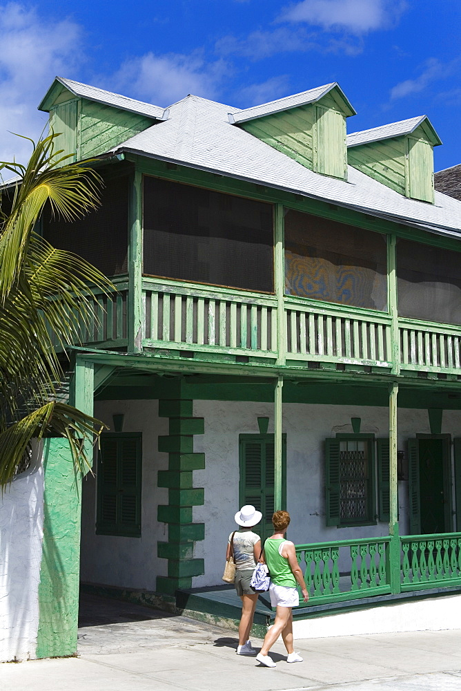 House on George Street, Nassau, New Providence Island, Bahamas, West Indies, Central America