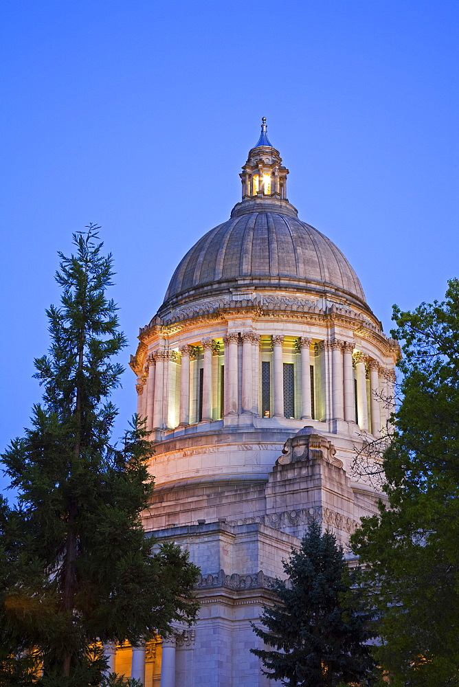 State Capitol, Olympia, Washington State, United States of America, North America