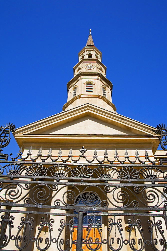 St. Philip's Episcopal Church, Charleston, South Carolina, United States of America, North America