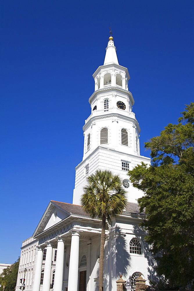 St. Michael's Episcopal Church, Charleston, South Carolina, United States of America, North America