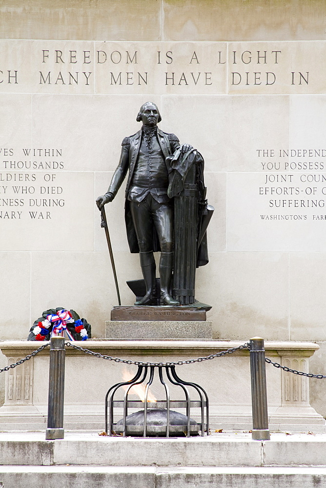 Tomb of the Unknown Soldier, Washington Square, Philadelphia, Pennsylvania, United States of America, North America