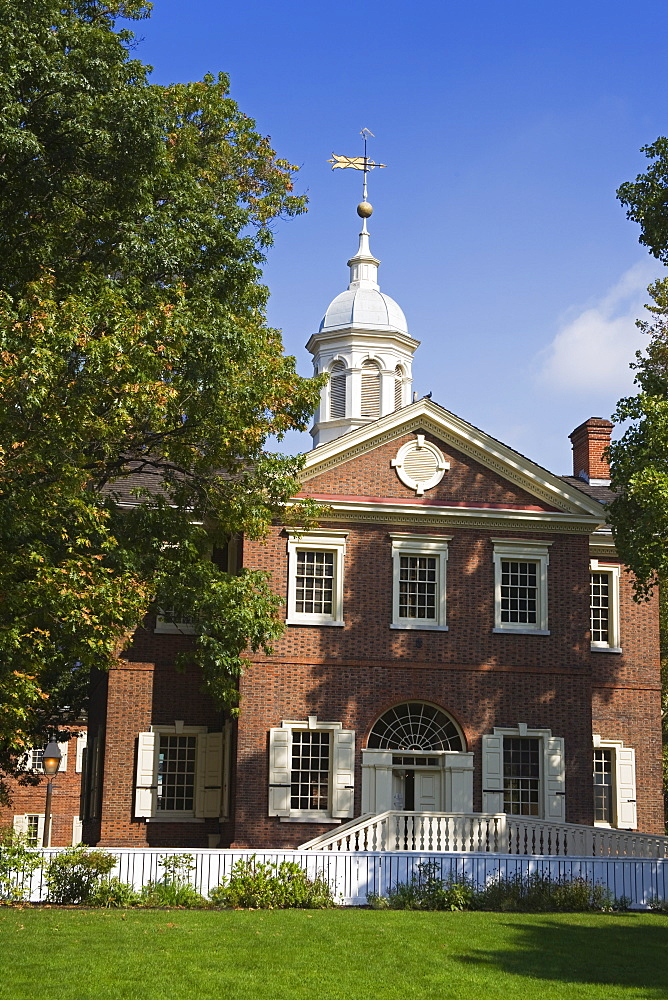 Carpenters' Hall, Independence National Historical Park, Old City District, Philadelphia, Pennsylvania, United States of America, North America