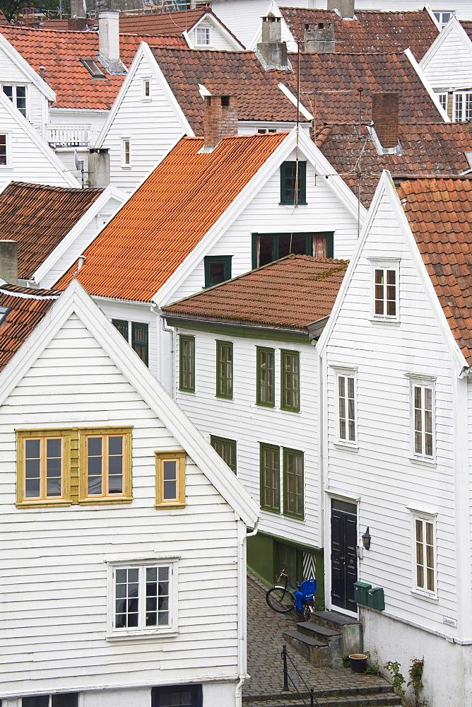 Clausegaten Street in Gamble (Old) Stavanger, Stavanger City, Ragoland District, Norway, Scandinavia, Europe - 776-1772