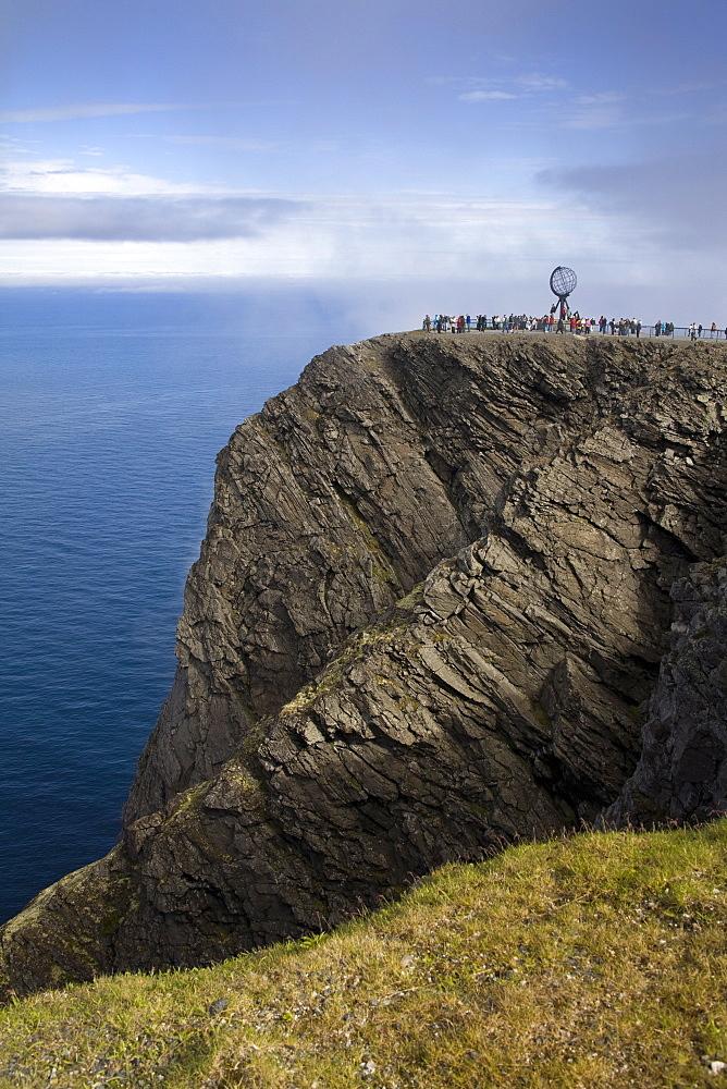 North Cape, Honningsvag Port, Mageroya Island, Finnmark Region, Arctic Ocean, Norway, Scandinavia, Europe - 776-1786